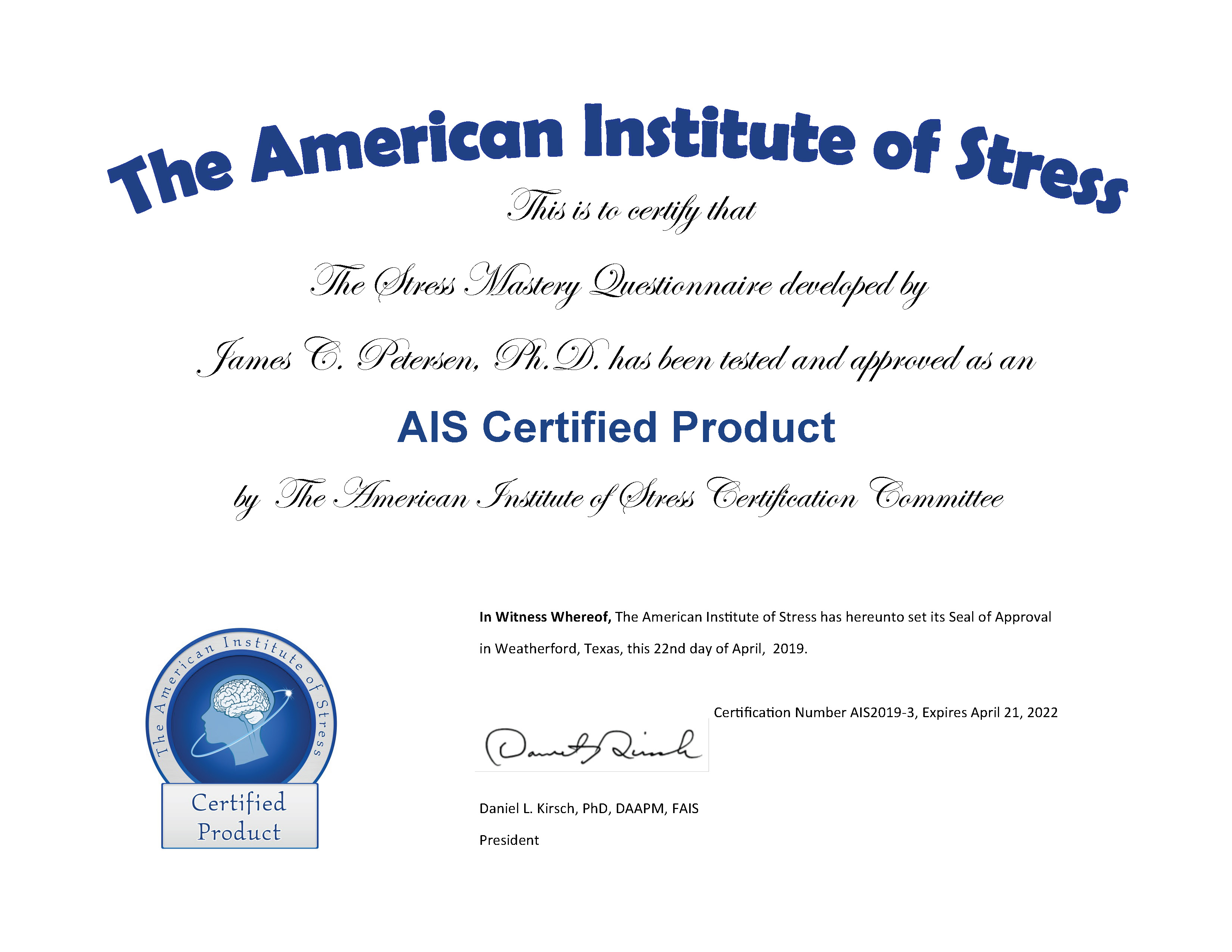 Stress Master News   Updates   Articles   Stress